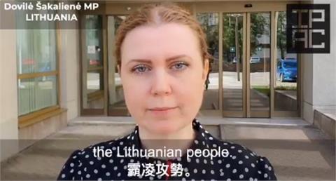 快新聞/立陶宛挺台遭打壓! 多國議員挺身籲「全球團結抗中國霸凌」