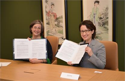 快新聞/台美簽海巡合作備忘錄 蔡英文:海洋在台灣人的DNA裡 共同維護印太和平