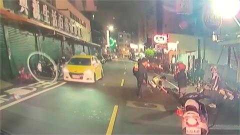 酒後騎電動滑板車 閃機車自摔重傷昏迷