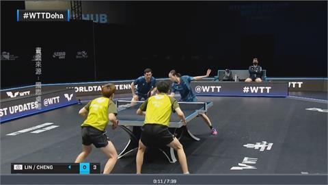 上週卡達摘金!  台灣桌球「黃金混雙」登世界第一