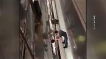 男將女丟下樓再跳樓 桃機情侶吵架2傷