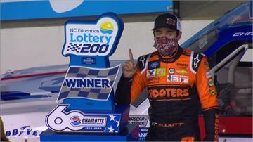 賽車/11天7戰體能大考驗  艾略特奪NASCAR卡車賽特別獎金