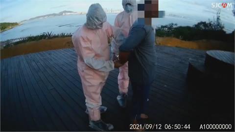颱風天「投奔自由」? 金門又見中客橡皮艇偷渡