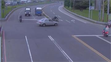 遭酒駕擊落 重機騎士怒踹車嗆:一條民事毀損換你酒駕和過失傷害兩條罪嫌