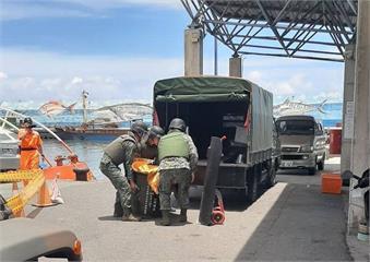 快新聞/台東漁民撈獲疑似未爆彈 軍方:應非國軍或海巡使用砲彈