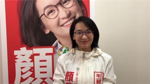 2022選戰開打! 鄭文燦子弟兵顏蔚慈新北路口拜票