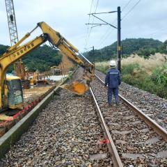 快新聞/台鐵福隆=貢寮間西線鋼軌變形 南北雙向列車東線單線行車