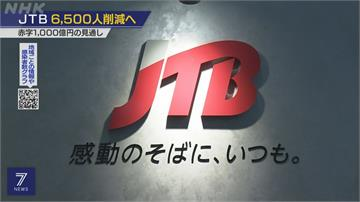 疫情衝擊估虧千億日圓 JTB旅行社裁6500人