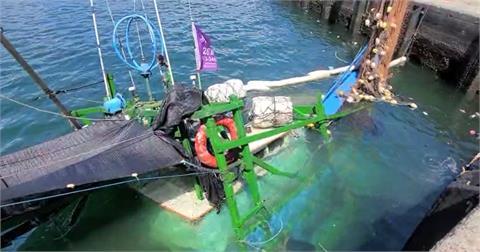 快新聞/蘇澳漁船失去動力撞上礁石沈船 1船員嗆水急送醫