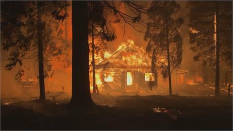 風火交加! 美西岸野火燒掉3座台北 北部龍捲風來襲