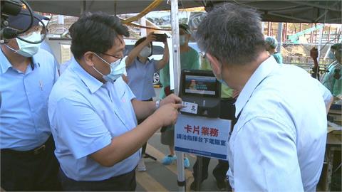 台北市場數位通行證正式上線 柯文哲視察坦言「還有問題要解決」