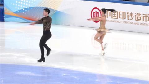 北京冬奧花式滑冰測試賽 參賽選手對場地滿意