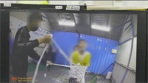 慶生惡搞洗車場噴泡沫  六年輕人沒戴罩全挨罰