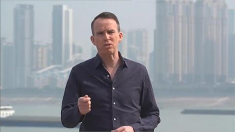 報導不利消息將被請喝茶?BBC駐北京記者突來台 華春瑩:跑什麼?