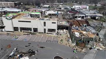 龍捲風肆虐美國田納西 摧毀百棟屋、至少25人亡