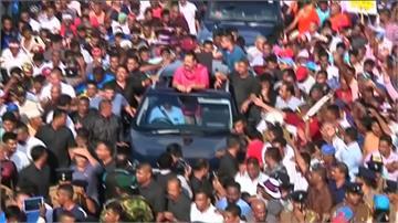抗議政府租借港口給中國 斯里蘭卡爆發大規模示威