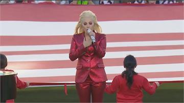 好萊塢大咖賀拜登就職 女神卡卡獻唱國歌