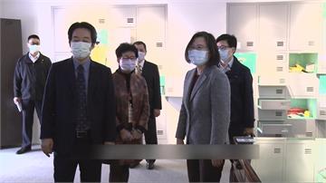 拜年曝疫苗進度 蔡總統:預計今年Q2開始供貨