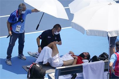 東奧/東京熱爆崩潰 網球名將梅德維夫:我掛了誰負責?