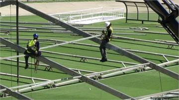 巴西體育場5天改造成方艙醫院 收治輕症患者