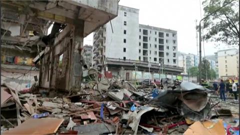 湖北十堰市市場天然氣爆炸!至少12死138人傷
