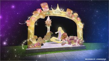 經典童話人物現身新北 耶誕城首度合作迪士尼