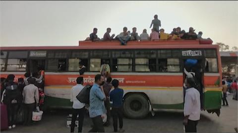 每日確診20萬起跳! 印度疫情崩潰、首都封城