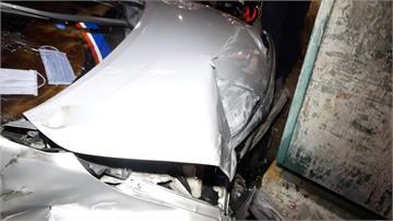 逢甲商圈凌晨車禍事故 2車碰撞釀3人傷