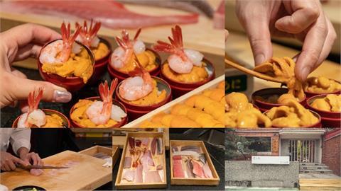 美食/台北壽司 真真庵 壽司割烹|海膽饗宴令人難忘 超人氣和牛海膽套餐