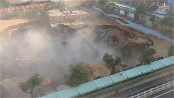 停車場工程崩塌 女工活埋14小時尋獲遺體