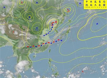 吳德榮:太平洋高壓強 未來10天鋒面南下渺茫