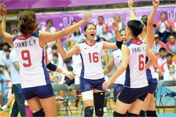 世大運》不敵日本!台灣女排將與烏克蘭戰銅牌