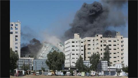 以巴衝突第6天 以飛彈轟倒媒體大樓