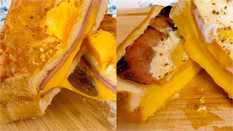 「吐司+蛋+OO」就能超美味 化身誘人早餐關鍵在「這步」