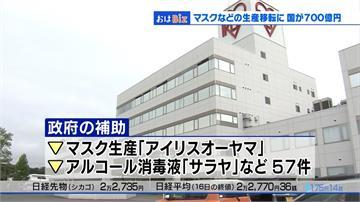 日本強化供應鏈 將補助口罩業者撤離中國