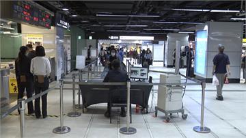 大眾運輸進站皆須戴口罩 仍有民眾忘記戴