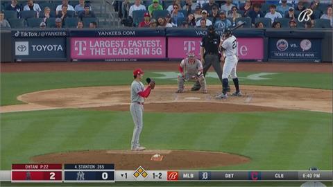 MLB/0.2局失7分遭洋基KO 大谷投球生涯最慘一戰