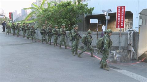 陸特戰21天行軍5百公里 防衛重地演練城鎮戰