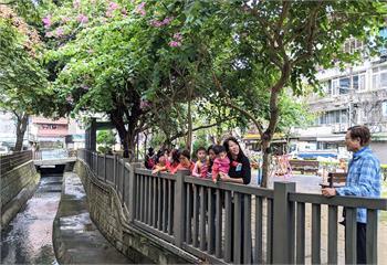 新北市圖瓦磘溝親子小旅行 走讀認識雙和母親河