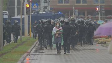 最殘暴清場 白俄羅斯連9周抗議