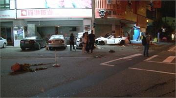 男開BMW躲警撞1死 目擊者:車子飛起來