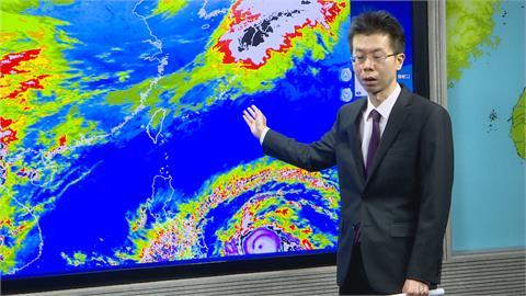 颱風眼明顯!「舒力基」轉強颱 路徑再往西修正