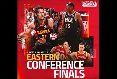 NBA/老鷹啄傷76人 闖進東區決賽