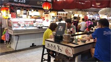 屏東第一鮪助攻?東港華僑海鮮市場湧人潮