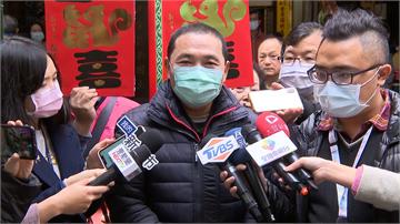 快新聞/侯友宜談防疫遭問黨主席選舉  稱:市政繁忙