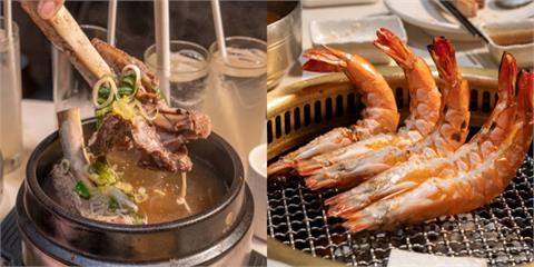 美食/台北美食 楓樹|CNN評比「世界上最好吃的韓國烤肉」豪邁牛骨湯 超巨鮮蝦 鮮嫩多汁燒肉一吃就愛上