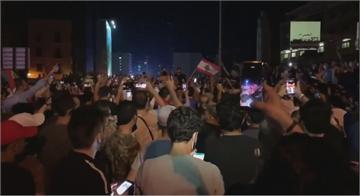 黎巴嫩經濟危機沒改善 民眾再上街示威縱火