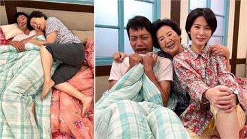 國民阿嬤王滿嬌客串《黃金歲月》睡錯床?甜蜜緊貼小鮮肉張哲豪胸懷還「饋咖」