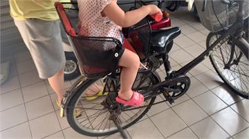 單車安全椅載兒被絞傷 原來沒一家有台灣認證