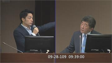 蔣萬安對決陳時中 北市長前哨戰衛環質詢台辯論美豬 像極了「選舉」